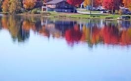 Lac devant le Club Chasse et pêche